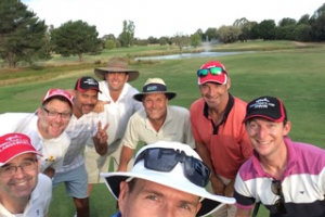 One of our happy groups of golfers